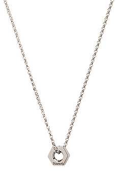 Bare Necklace in Polished Silver