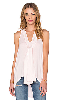 Sleeveless Halter With Ties en Sugar