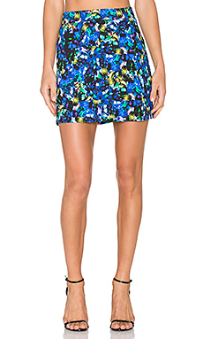 Jewel Modern Mini Skirt en Imprimé