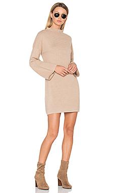 Ripple Stitch Dress en Beige
