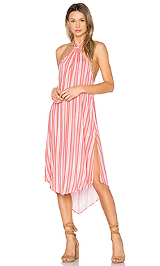ROBE DOS-NU HAITI COLD SHOULDER