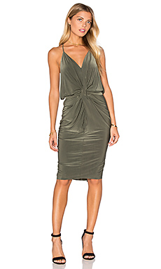 Domino Dress in Olive