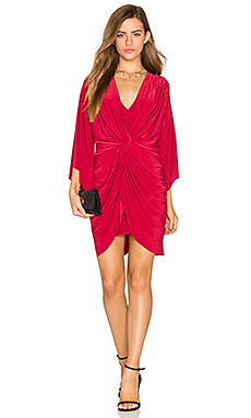 Teget Dress in Red