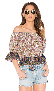 Danya Top en French Floral