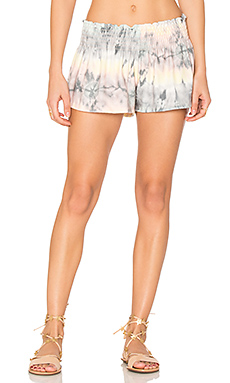 Fox Smocking Shorts en Caribbean