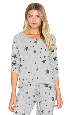 Percy Classic Pullover in Heather Grey Star