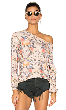 Percy Classic Pullover en Pink Champagne Floral