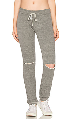 Jonas Knee Slit Sweatpant – 麻灰色