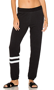 Plato Sweatpant in Black