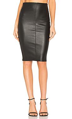 High Waist Slit Skirt – 黑色