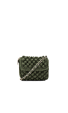 Textured Crossbody Bag – 橄榄色