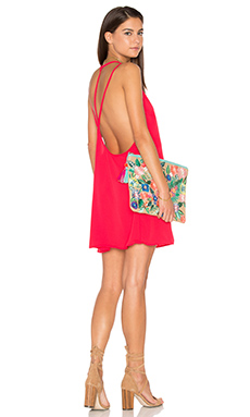 Bulma Dress in Soft Red