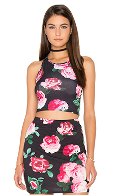 Fonda Crop Top in Vintage Floral