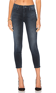 JEAN SKINNY HIGH WAISTED LOOKER CROP
