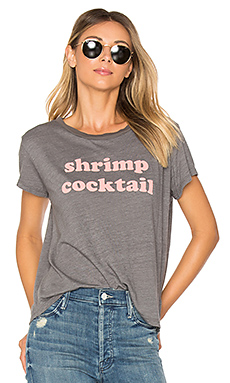 T-SHIRT GRAPHIQUE BOXY GOODIE GOODIE SHRIMP COCKTAIL