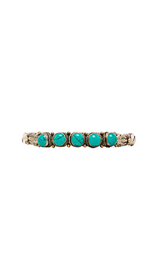 5 Stone Isa Cuff en Turquoise