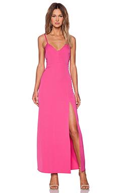 x Naven Twins Honey Maxi Dress in Pink