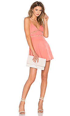 Pink Champagne Dress in Pink