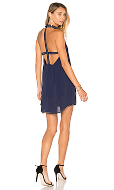 Lourdes Dress in Navy