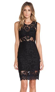 Showstopper Mini Dress in Black