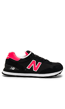 515 Sneaker en Black & Bright Cherry