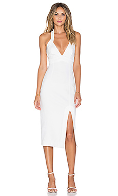 ROBE MI-LONGUE PONTI DIAMOND CUT OUT