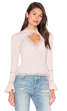 Diamond Cut Out Lace Top – 粉红胭脂系列