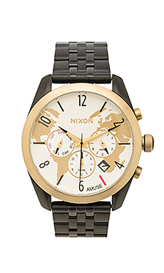 x AMUSE SOCIETY Bullet Chrono en Light Gold & Black