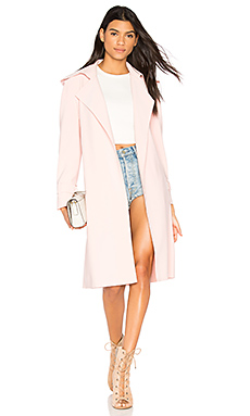 Double Breasted Trench en Blush