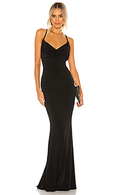 The Hustle Maxi Dress en Noir