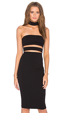Frankie Bodycon Dress en Noir