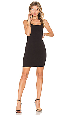 Taylor Mini Dress en Noir