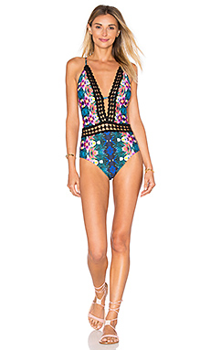 Habanera Goddess One Piece in Multi