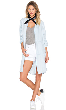 St. Gilles Bomber Jacket in Chambray