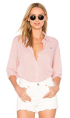 89 方格系扣衬衫