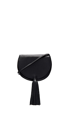 Mallory Saddle Bag in Black