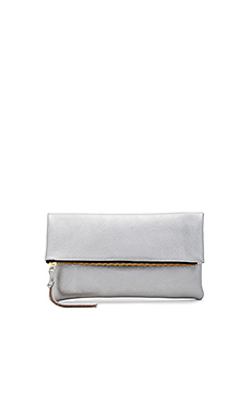 Anastasia Clutch in Nickel