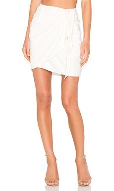 Mamie Skirt in White