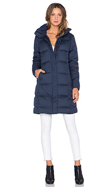 Down With It Parka en Navy Blue