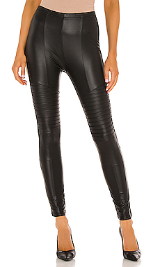 Full Liquid Moto Legging in Black