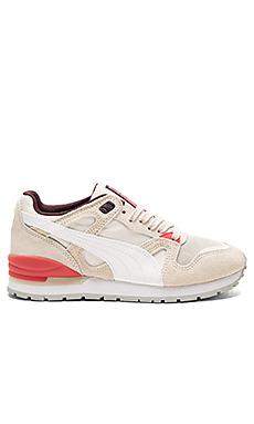 Duplex Classic Sneaker en Birch & Whisper White