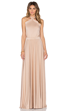 Teana Maxi Dress in Bamboo