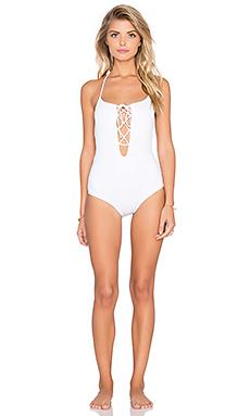 La Jolla Swimsuit en Blanc