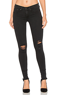 Leggings en Night Distressed