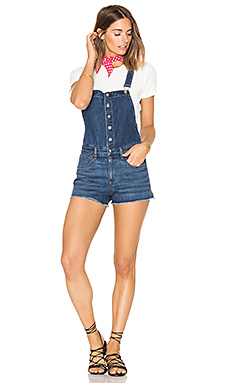 Lou Short Overall in Bluebird