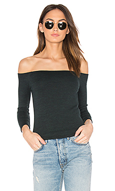 Donna Top in Scarab Black