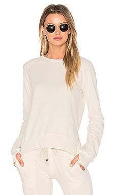 Puff Sleeve Sweatshirt en Blanc