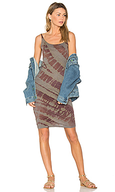 Layering Tank Dress en Mulberry Tie Dye
