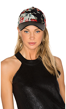 Marilyn Baseball Cap in Black Multi