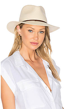 Straw Fedora en Naturel